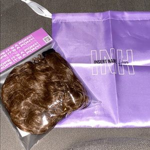INH shayla pony- mixed brown